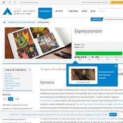 Expressionism Movement, Artists and Major Works