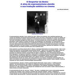 A alma do expressionismo alemão e sua tradução estética no cinema