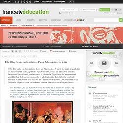 L'expressionnisme, porteur d'émotions intenses - Otto Dix, l'expres