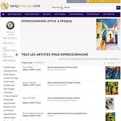 Expressionnisme, reproductions de tableaux et copies de peintures célèbres