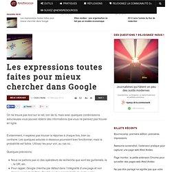 5 expressions de recherche Google pour journaliste