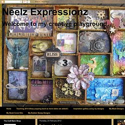 Neelz Expressionz: Embossed Acetate