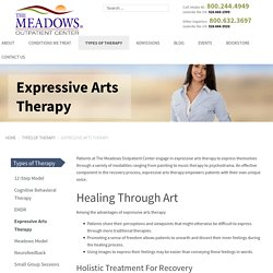 Expressive Arts Therapy