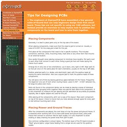 Free PCB layout software - Low cost circuit boards - Top quality PCB manufacturing