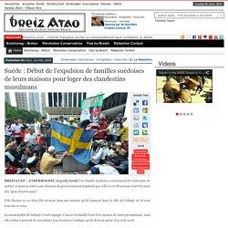Suède : Début de l'expulsion de familles suédoises de leurs maisons pour loger des clandestins musulmans