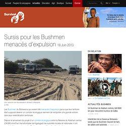 Sursis pour les Bushmen menacés d'expulsion