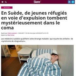 En Suède, de jeunes réfugiés en voie d'expulsion tombent mystérieusement dans le coma