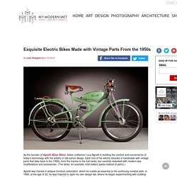 Exquisite Electric Bikes Made with Vintage Parts From the 1950s