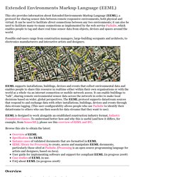 Extended Environments Markup Language: EEML