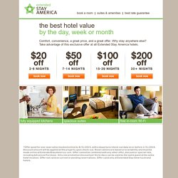 Extended Stay America Offer