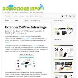 Extender Z-Wave Infrarouge Remotec