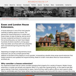 House Extension Architects in London