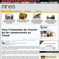 Vers l'extension du chemin de fer camerounais au Tchad