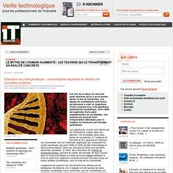 Extension du code génétique : une entreprise explorera la création de nouvelles protéines