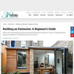 Building an Extension: A Beginner's Guide