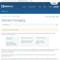 Extension Packaging - MDC