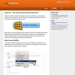 GridFox - The Grid Layout Firefox Extension » Eric Puidokas » Programming and Designing for the Web