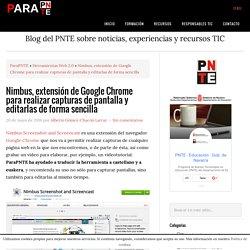 Nimbus, extensión de Google Chrome para realizar capturas de pantalla y editarlas de forma sencilla