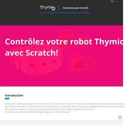 Extension ScratchX pour Thymio