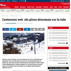 L'extension web .ski glisse désormais sur la toile