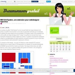960 Grid System, une extension pour webdesigner rigoureux