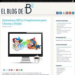 15 Extensiones SEO y Complementos para Chrome y Firefox