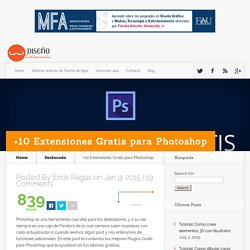 +10 Extensiones Gratis para Photoshop - Diseño Latinoamerica