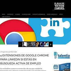 4 extensiones de Google Chrome para LinkedIn si estás en búsqueda activa de empleo