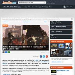 Fallout 4 : Les extensions dévoilées et augmentation du prix du Season Pass - Actualités