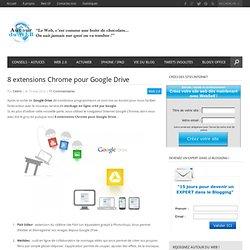 8 extensions Chrome pour Google Drive