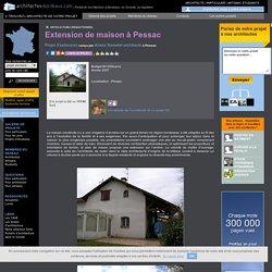 07. Extensions : Extension de maison à Pessac - Pessac