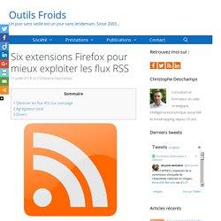 Six extensions Firefox pour mieux exploiter les flux RSS