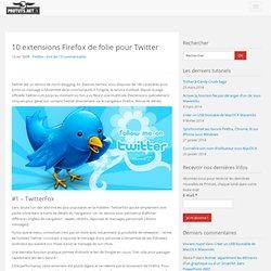 10 extensions Firefox de folie pour Twitter
