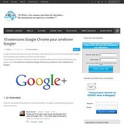 10 extensions Google Chrome pour améliorer Google+