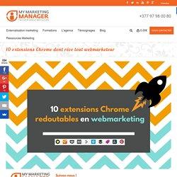 CM: Ces 10 extensions Chrome impressionnantes à connaitre