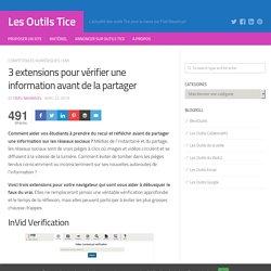 3 extensions pour vérifier une information avant de la partager