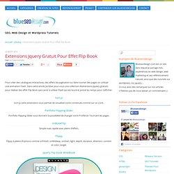 Extensions Jquery Gratuit Pour Effet Flip Book