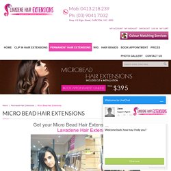 Hair Extensions Micro Bead