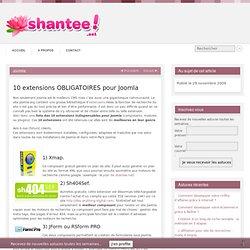 10 extensions OBLIGATOIRES pour Joomla