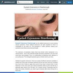 Eyelash Extensions in Peterborough
