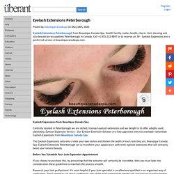 Eyelash Extensions Peterborough