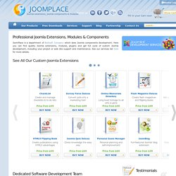 Extensions, addons, plugins, bridges for Joomla 1.5, 1.6 and 1.7 by JoomPlace