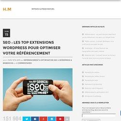 SEO : Les top extensions wordpress pour optimiser votre référencement