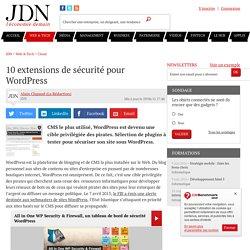 10 extensions de sécurité pour WordPress