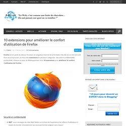 10 extensions pour améliorer le confort d'utilisation de Firefox