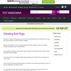 #1 Extensive Choice of Vibrating Butt Plugs All Sizes Inflatable