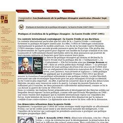 Etats-Unis : Politique étrangère, histoire, politique extérieure des USA, relations internationales, Histoire de la politique étrangère américaine - Céline Pajon, Patrice Sawicki