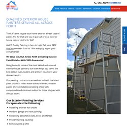 Hire Best Painters for Exterior House Painting Service in Perth