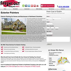 Exterior Painting in Dublin and Northwest Columbus, OH