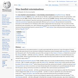 Nine familial exterminations - Wikipedia